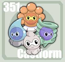 351 Castform by Pokedex