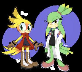 Mango and Kiwi by Natomatsu