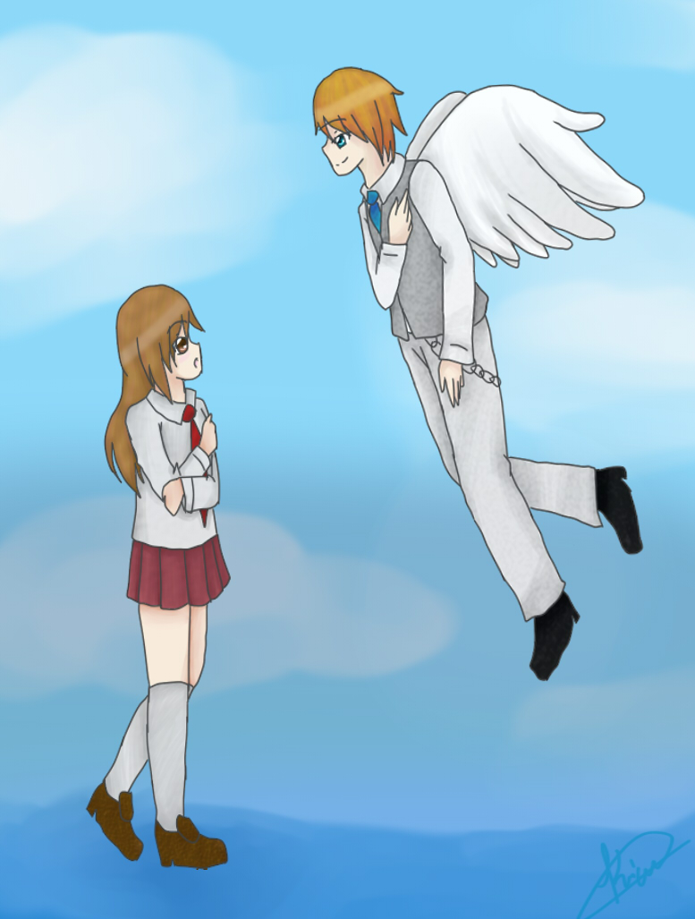 Dear Guardian Angel (REDO) by Katsumi96Dokuro