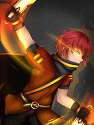 Gacha World: Avenger Reed by Katsumi96Dokuro