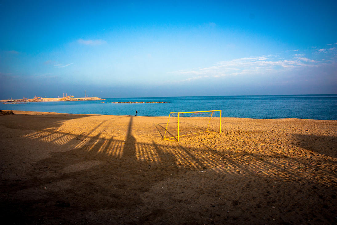 Spanish beach by ancores