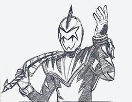 White Dino Ranger (Draft)