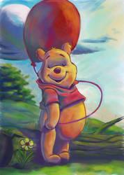 Winnie the Pooh by zubair43