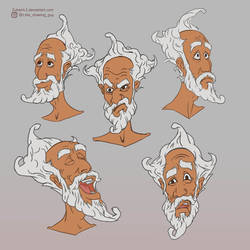 Yoge Baba Expressions