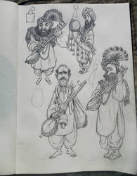 Fakir Character design
