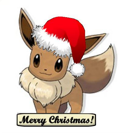 Eevee for Christmas by argent55 on DeviantArt