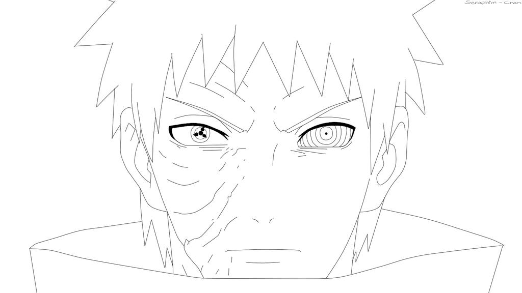 Obito Coloring Pages