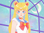 Did a Sailor Moon Redraw!