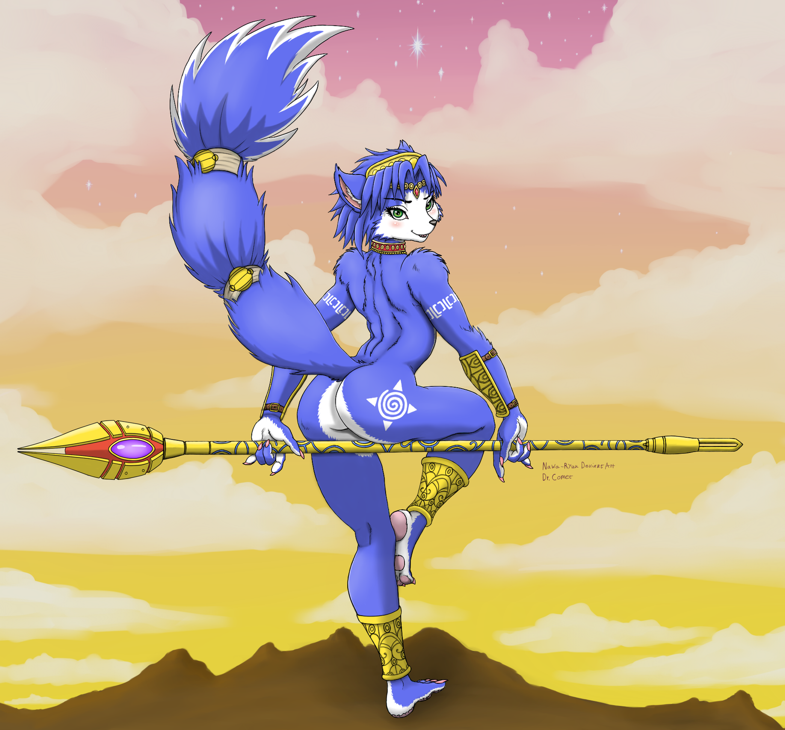 Starfox Krystal Nude 31