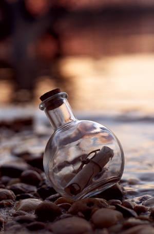 Message In The Bottle by Spademm