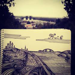 Kyiv, doodle