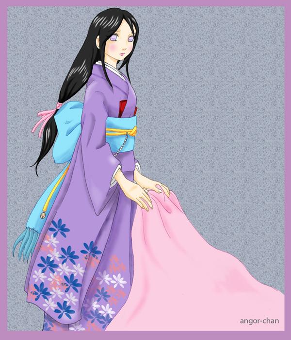 Hanabi in Kimono by Angor-chan