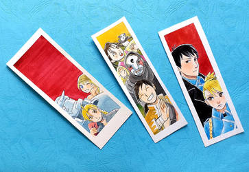FMA -some kind of- bookmarks by Angor-chan