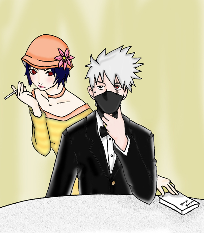 Kakashi x Anko oldies by Angor-chan on DeviantArt