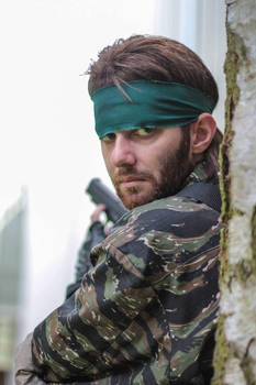 Metal Gear Solid 3 - Naked Snake cosplay #2
