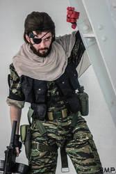 Metal Gear Solid V - Punished Snake cosplay #1