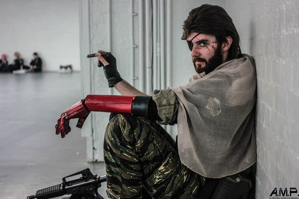 Metal Gear Solid V - Punished Snake cosplay #2 by Petchy-mon