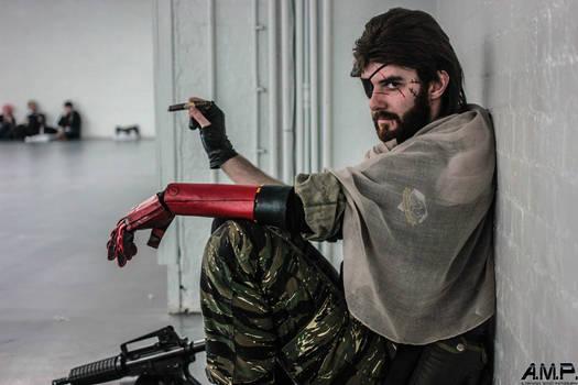 Metal Gear Solid V - Punished Snake cosplay #2