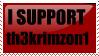 th3krimzon1 Stamp by caybeach