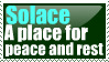 Solace stamp by caybeach