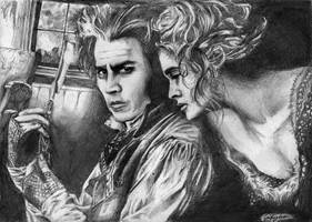 Sweeney Todd by Painted-rabbit