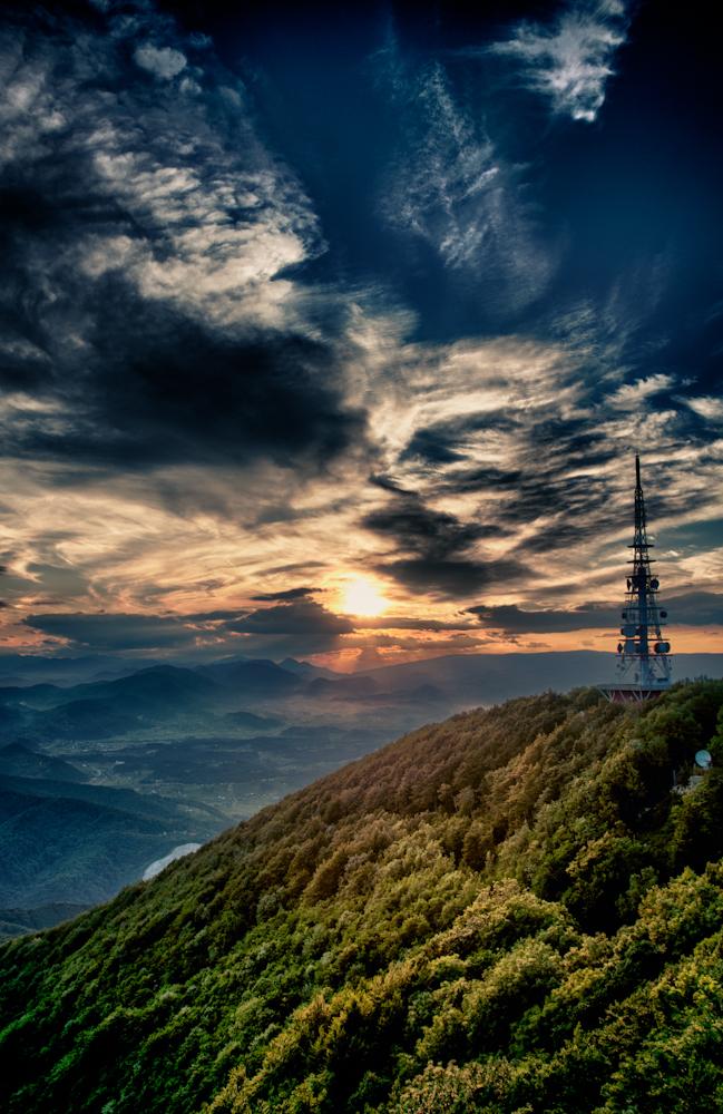sunset hdr by robotek87