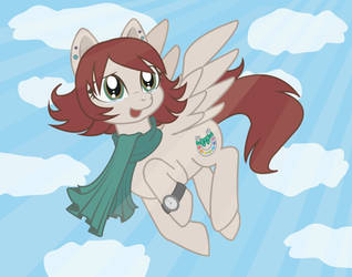 MLP Fan Art - me as a pony by RestlessMuse