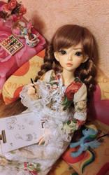 Inspiria finally at home (Fairyland Minifee Chloe) by RestlessMuse