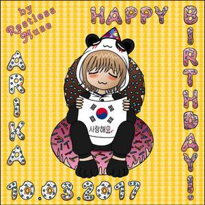 #03 Happy birthday 2017