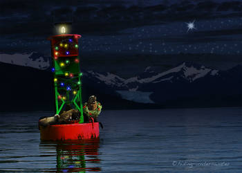 Christmas in Juneau by hiding-under-water