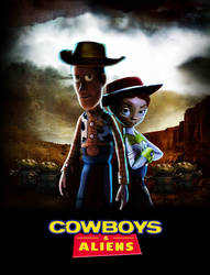 Cowboys and Aliens by hiding-under-water