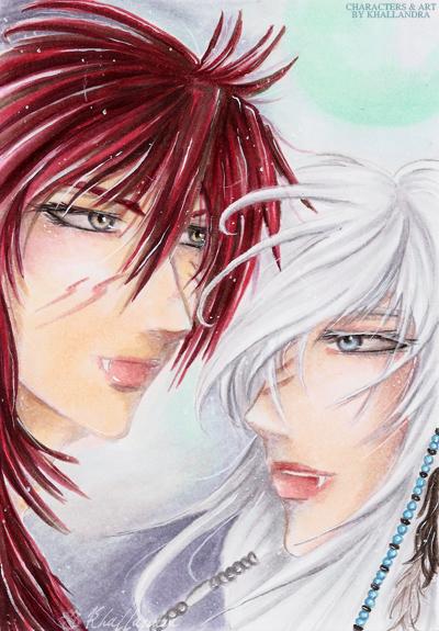 Marrok and Silver by Khallandra