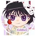 Button: Kamui by Khallandra