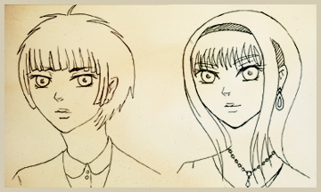 Pe Bishounen And Bishoujo Style By Khallandra On Deviantart