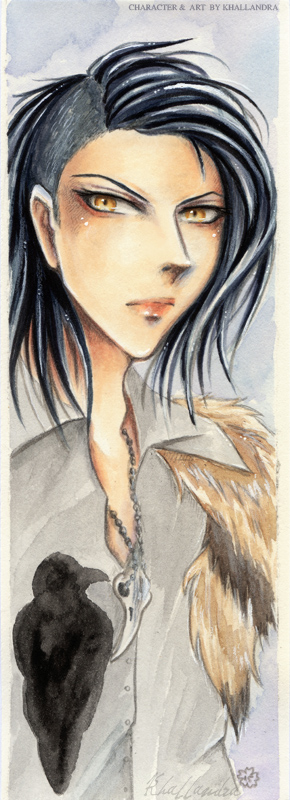 Korvin (Bookmark) by Khallandra