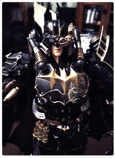 P Batman by Khallandra
