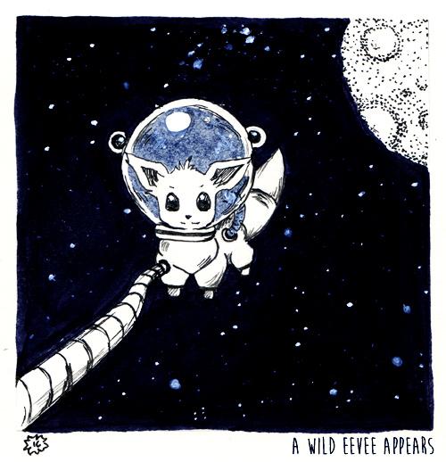 Day #03 Space by Khallandra