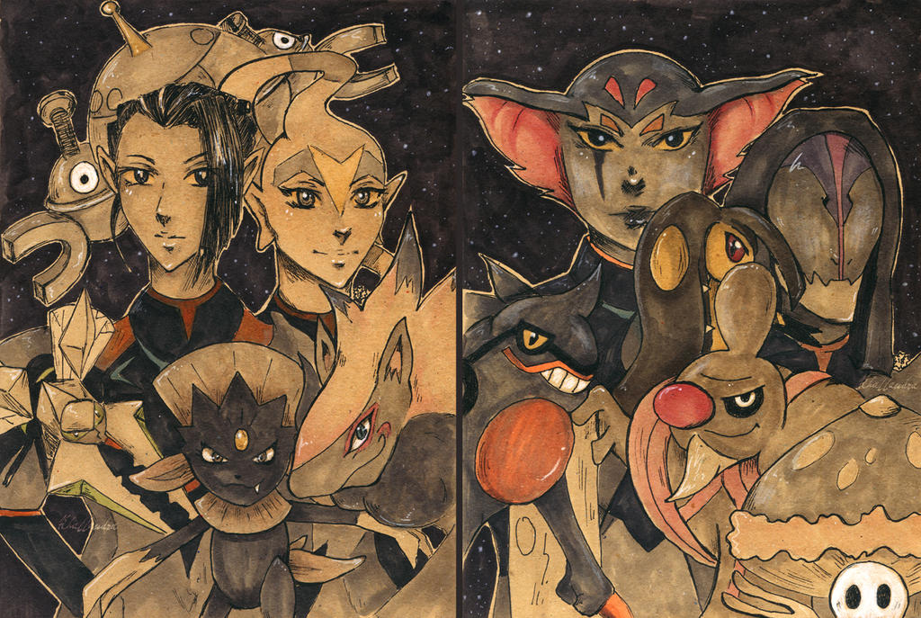 Lotor Generals as Pokemon Trainers by Khallandra on DeviantArt