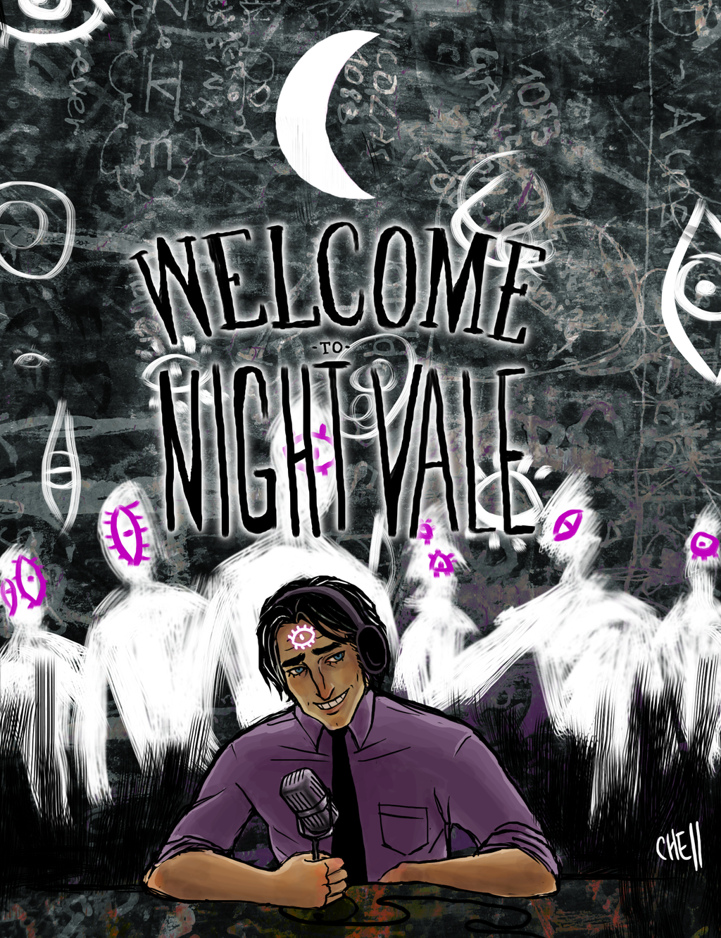 Welcome To Night Vale by Chell-Dunphy