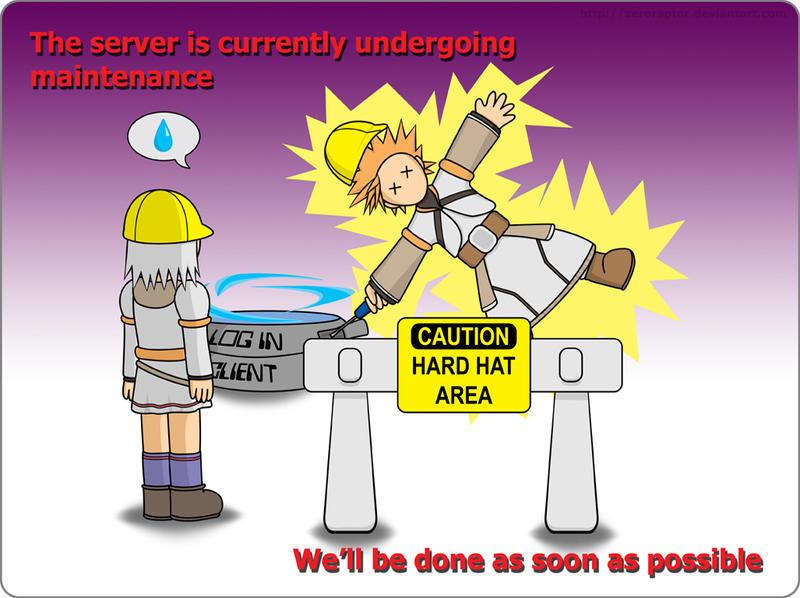 Maintenance by ZeroRaptor