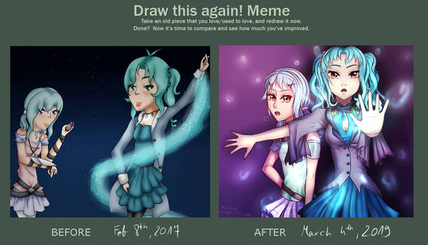 Draw It Again! meme by VeronaLuna