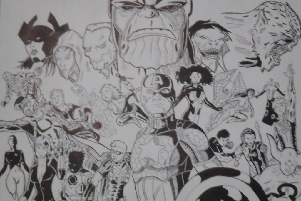 Avengers Infinity by YNAD009