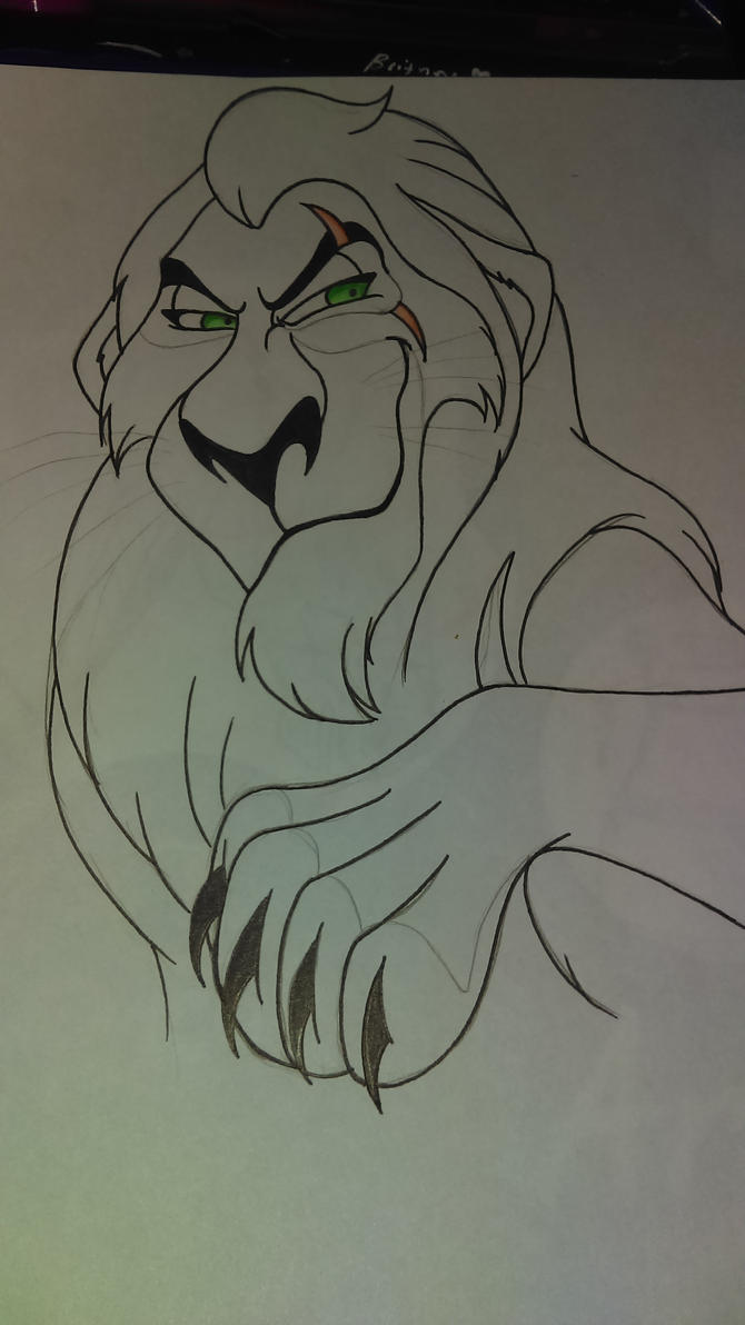 Scar (wip) by PrincessLunacx