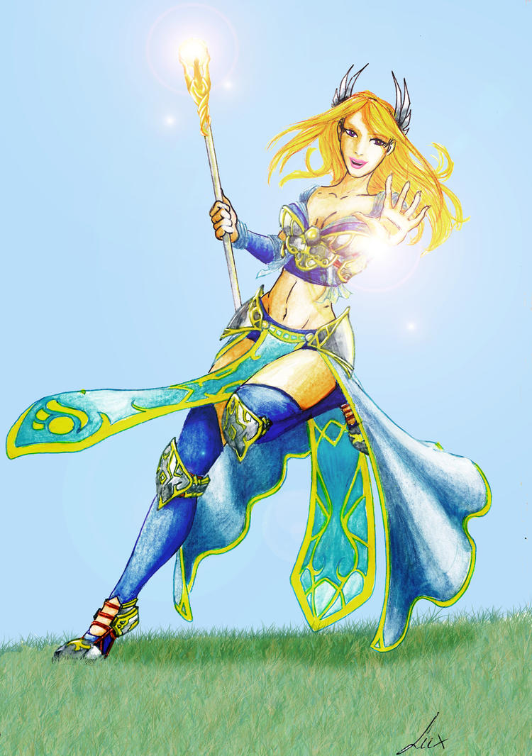 Lux, The Lady of Luminosity by Noctume