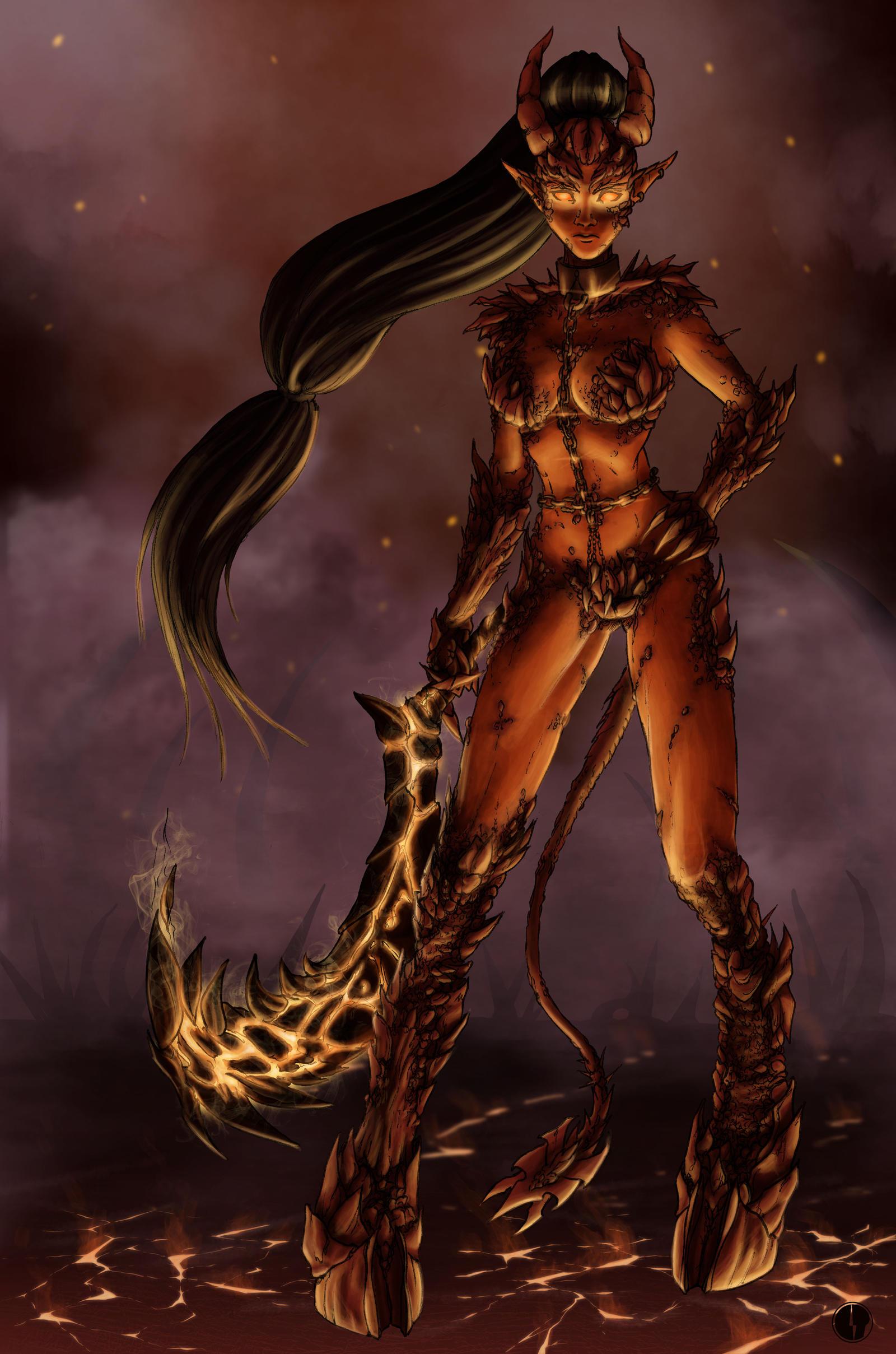 Soraka, Demonic Child - Final Version by Noctume