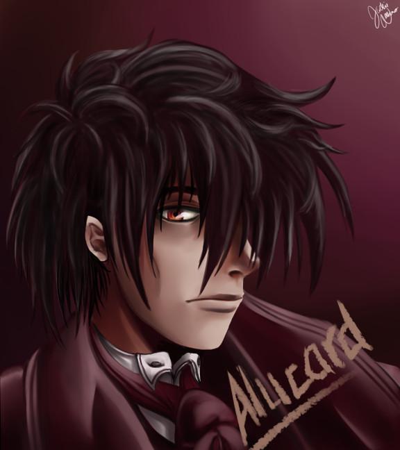 Alucard Portrait by IcaZell