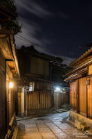 streets of Gion by LunaFeles