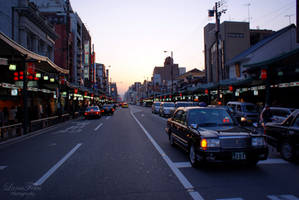 streets of Kyoto 7 by LunaFeles