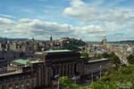 cityscape of Edinburgh by LunaFeles