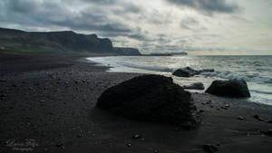 the beach of Vik